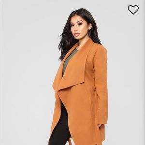 Gorgeous Camel Trench Coat